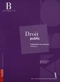 Samuel Dyens et Eric Guérin - Droit public - Préparation au concours rédacteur catégorie B.