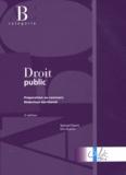 Samuel Dyens et Eric Guérin - Droit public - Préparation au concours rédacteur territorial.