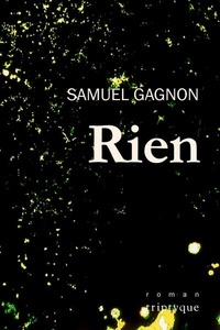 Samuel Gagnon - Rien.