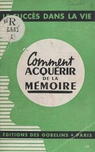 Samuel Griolet - Comment acquérir de la mémoire.