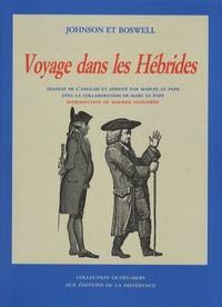 Samuel Johnson et James Boswell - Voyage dans les Hébrides.