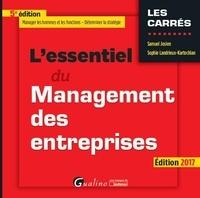 Samuel Josien et Sophie Landrieux-Kartochian - L'essentiel du management des entreprises.
