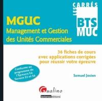 Deedr.fr MGUC Management et Gestion des Unités Commerciales - 36 fiches de cours avec applications corrigées pour réussir votre épreuve Image