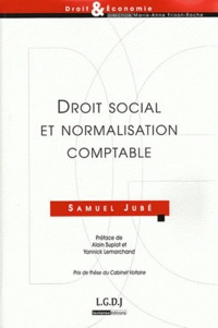 Samuel Jubé - Droit social et normalisation comptable.