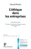 Samuel Mercier - L'éthique dans les entreprises.