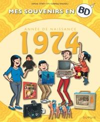 Samuel Otrey et  Sti - Mes souvenirs en BD  : Année de naissance 1974.