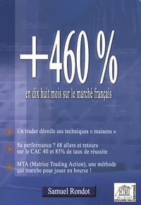 Samuel Rondot - +460% en dix huit mois sur le marché français (CAC 40).