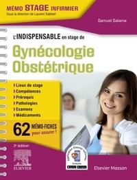 Samuel Salama - L'indispensable en stage de Gynécologie-Obstétrique - 62 mémo-fiches.