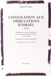 Samuel Usque - Consolation aux tribulations d'Israël.