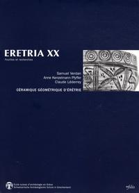 Samuel Verdan et Anne Kenzelmann Pfyffer - Céramique géométrique d'Erétrie.