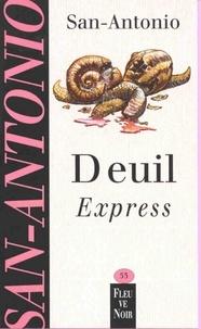 E-books téléchargement gratuit pdf Deuil express en francais par San-Antonio  9782265091184
