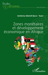 Sandavoy Adamoh Djelhi-Yahot - Zones monétaires et développement économique en Afrique.