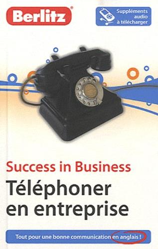 Sander Schroevers - Téléphoner en entreprise - Success in Business.