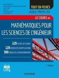 Les 20 premières heures de téléchargement gratuit de livres audio Mathématiques pour les sciences de l'ingénieur - 2e éd.  - 120 fiches de cours, 460 exercices résolus, exemples d'applications et bonus web 9782100799435