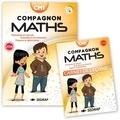 Sandra Boëche et Gérard Vinrich - Compagnon Maths CM1 - Nombres et calcul, grandeurs et mesures, espace et géométrie. Avec un carnet de leçons.