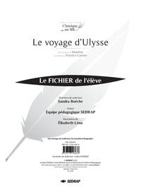 Sandra Boëche et Patrice Cartier - Français primaire Classique en tête Le voyage d'Ulysse - Le fichier de l'élève.