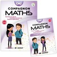 Sandra Boëche et Gérard Vinrich - Mathématiques CM2 Compagnon maths - Nombres et calculs, grandeurs et mesures, espace et géométrie. Avec un carnet de leçons.