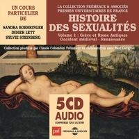 Sandra Boehringer et Didier Lett - Histoire des sexualités (Volume 1) - Grèce et Rome antiques, Occident médiéval, Renaissance - Presses Universitaires de France.