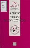 Sandra Costa et Thierry Dufrêne - La peinture italienne des XIXe et XXe siècles.