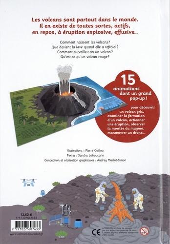 Le livre animé des volcans