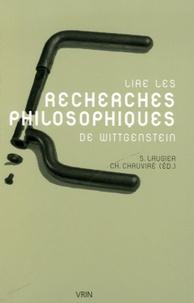 Sandra Laugier et Christiane Chauviré - Lire les Recherches philosophiques.