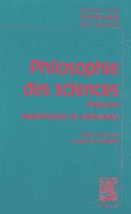 Lemememonde.fr Philosophie des sciences - Tome 1 : Expériences, théories et méthodes Image
