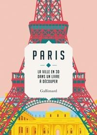 Sandra Lawrence - Paris - La ville en 3D dans un livre à découper.