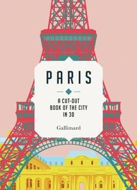 Sandra Lawrence - Paris - A cut-out book of the city in 3D.