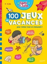 Sandra Lebrun et Thérèse Bonté - 100 jeux de vacances - De la Grande Section au CP. Avec 1 crayon.