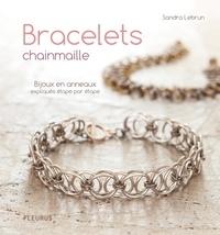 Sandra Lebrun et Thierry Antablian - Bracelets chainmaille - Bijoux en anneaux expliqués étape par étape.