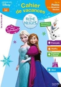 Cahier de vacances la Reine des Neiges 3/4 ans - De la Petite à la Moyenne Section.pdf