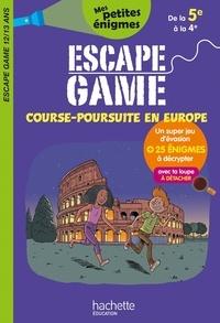 Sandra Lebrun et Philippe de La Fuente - Escape game Course-poursuite en Europe.
