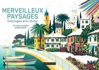 Sandra Lebrun - Merveilleux paysages - 36 cartes postales prédécoupées.