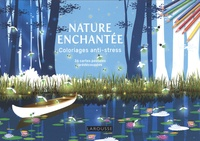 Sandra Lebrun - Nature enchantée - 36 cartes postales prédécoupées.