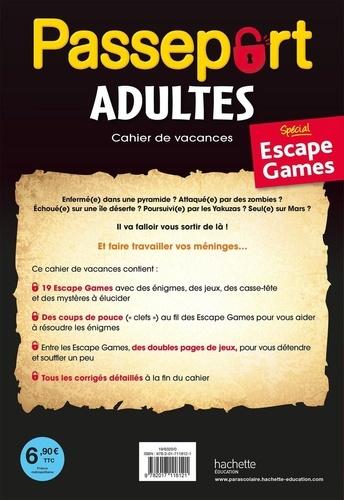Passeport Adultes Escape Game  Edition 2020