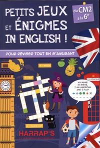 Ebook torrents téléchargement gratuit Petits jeux et énigmes in english  - Du CM2 à la 6e en francais par Sandra Lebrun