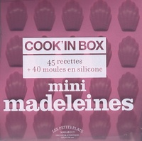 Sandra Mahut - Mini madeleines - Cook'in Box 45 recettes + 40 moules en silicone.