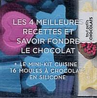 Sandra Mahut - Tout petits chocolats - Le mini livre des meilleures recettes + 16 moules en silicone réutilisables.