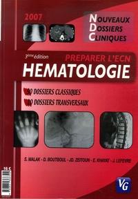 Sandra Malak et David Boutboul - Hématologie.