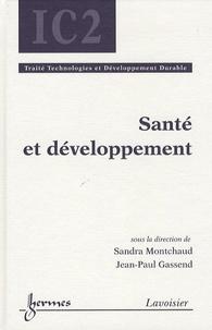 Sandra Montchaud et Jean-Paul Gassend - Santé et développement.