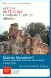 Sandra Paola Alvarez Tinajero - Migration Management? - Accounts of agricultural and domestic migrant workers in Ragusa (Sicily).