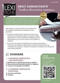 Sandra Thenot - Droit administratif - Procédure administrative contentieuse.
