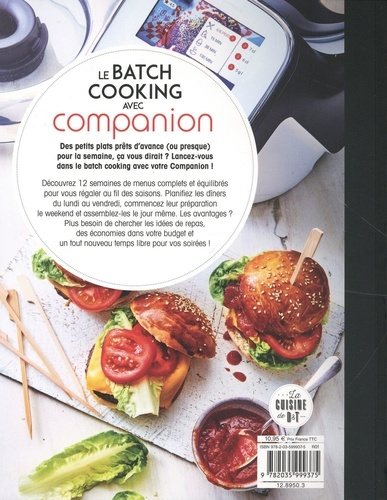 Le batch cooking avec Companion c'est facile !