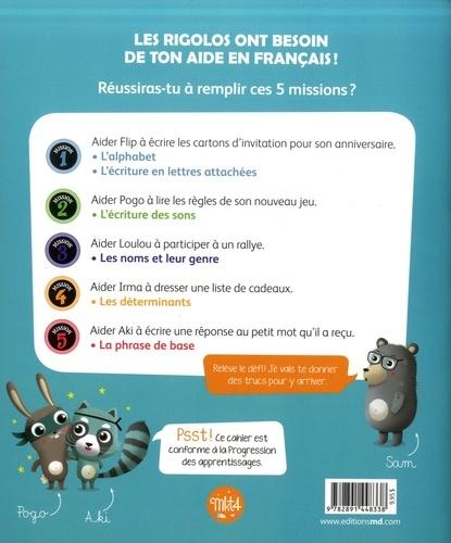 Les rigolos 1re année. Un cahier de français pas comme les autres !