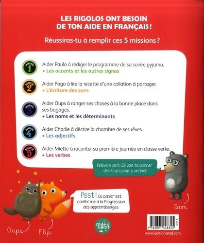 Les rigolos 2e année. Un cahier de français pas comme les autres !