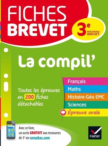 Sandrine Aussourd et Pascal Bihouée - Fiches brevet La Compil  du brevet - fiches de révision pour les 5 épreuves.