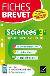 Sandrine Aussourd et Pascal Bihouée - Sciences 3e - Nouveau brevet.