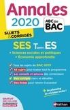 Sandrine Benasé-Rebeyrol et Béatrice Foussat - SES Tle ES - Sujets & corrigés.