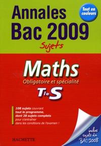 Sandrine Bodini-Lefranc - Maths Obligatoire et spécialité Tle S - Sujets.