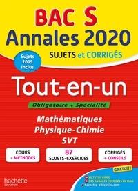 Sandrine Bodini-Lefranc et Sandrine Dubois - Tout-en-un Tle S Obligatoire + Spécialité Mathématiques, Physique-Chimie, SVT - Sujets et corrigés.